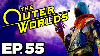 The Outer Worlds Ep.55 - • AN ANCIENT ALIEN INVASION? GOING TO BYZANTIUM!!! (Gameplay / Let's Play)
