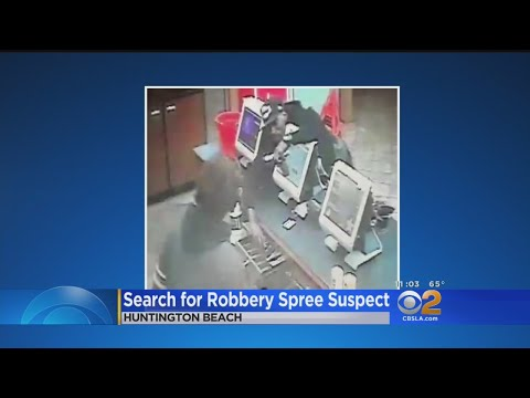 Same Gunman Wanted In String Of Robberies Across Orange County