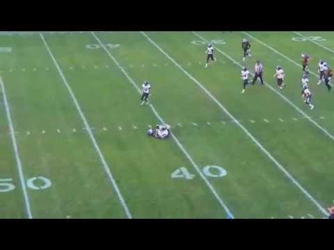 Franklin Central Football : Columbus North Highlight