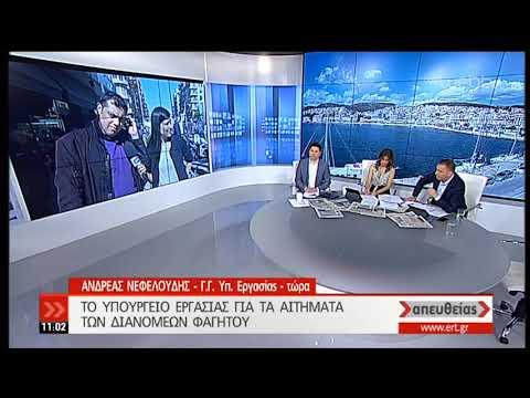 Αν. Νεφελούδης: Νομοθετική ρύθμιση για το θέμα των διανομέων φαγητού | 11/04/19 | ΕΡΤ
