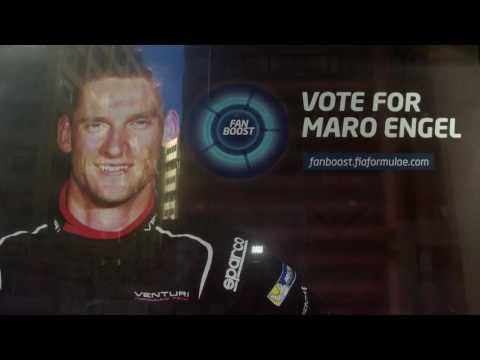 Maro Engel is ready for the Monaco ePrix