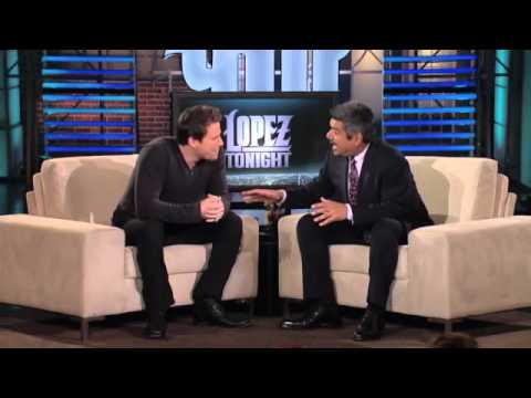 Channing Tatum Talks , Doing Quinceañeras, Being A Male Stripper on Lopez Tonight 2/8/11 (видео)