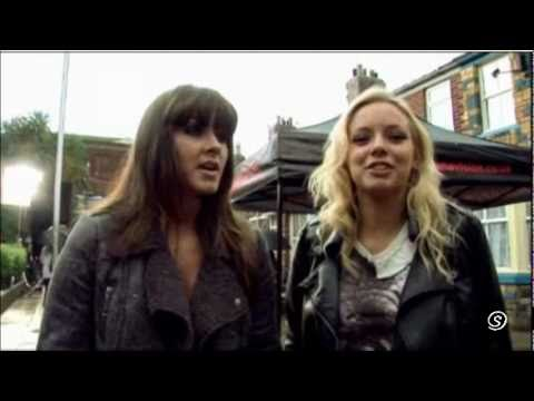 Sophie & Sian – Behind The Scenes of Coronation Street's 50th Anniversary Trailer
