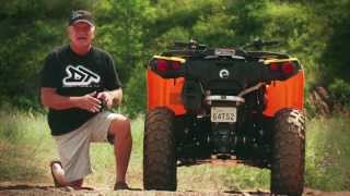 9. 2013 Can-Am Outlander 500 ATV Test Ride