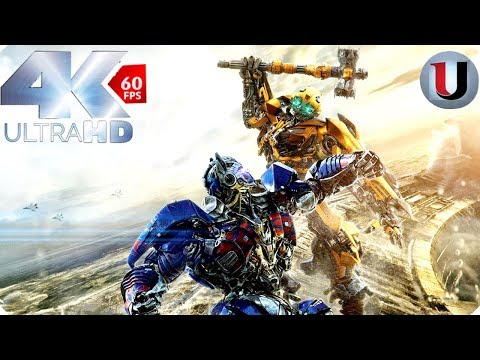 Transformers 5 The Last Knight Optimus Prime vs Bumble Bee (FULL HD)