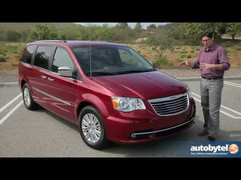 2013 Chrysler Town & Country Minivan Video Review