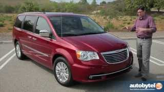 2013 Chrysler Town&Country Test Drive And Minivan Video Review