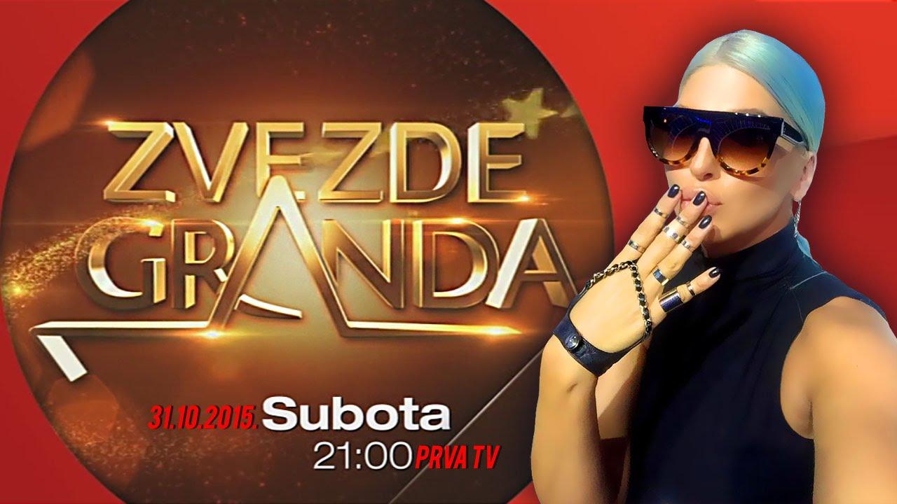 ZVEZDE GRANDA 2015 – 2016 – šesta emisija – 31. 10. – najava