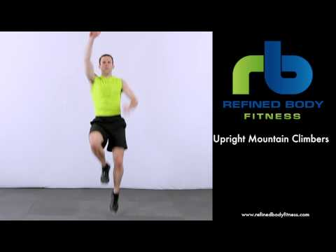 Upright Mountain Climbers – Exercise Demonstration by Refined Body Fitness