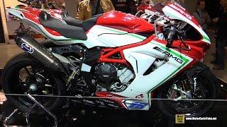 6. 2016 MV Agusta F3 675 WSS Racing Bike #16 - Walkaround - 2015 EICMA Milan