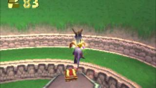 Let's Play Spyro The Dragon Part 1 - Playstation Was Amazing Back Then.