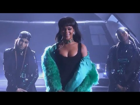 Rihanna Debuts 'Bitch Better Have My Money' Performance iHeartRadio Music Awards