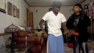 Shameik Moore and Jacob Latimore Dancing