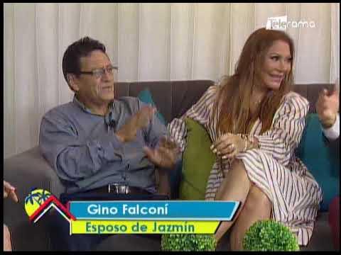 Jazmin y Gino Falconí uno de los matrimonios más estables de la farándula