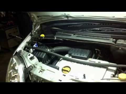 Opel Meriva. How to Cabin Air Filter replacement