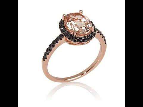 Rarities Pink Morganite and Gemstone Ring