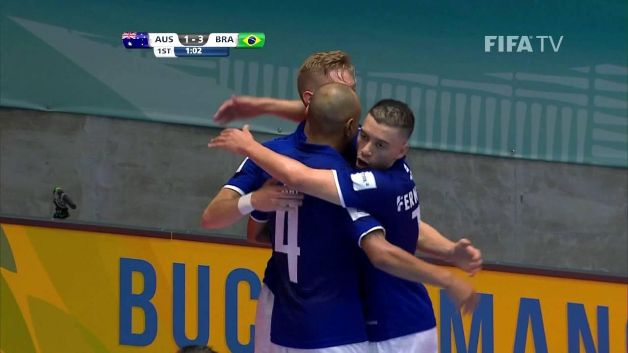 Match 20: Australia v Brazil – FIFA Futsal World Cup 2016