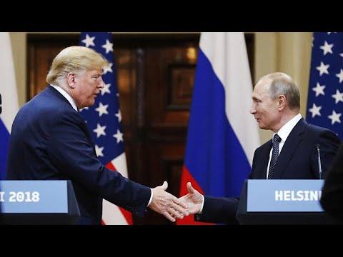 «Ευχαριστώ» Πούτιν σε Τραμπ