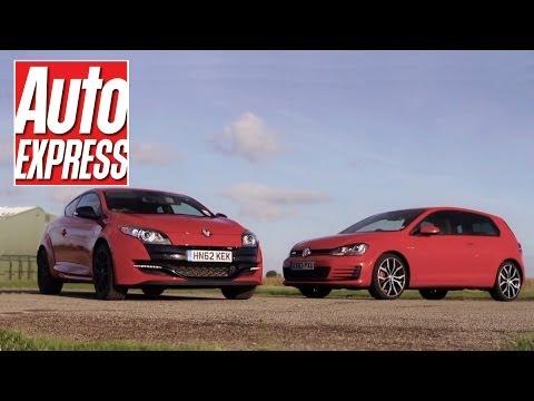 Volkswagen Golf GTI Vs Renault Megane RS review – AutoExpress