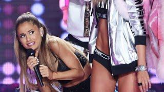 Ariana Grande Golpeada en el Desfile de Victoria's Secret
