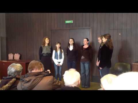 Oj Krajino - peva ženska pevačka grupa UNA iz Barajeva