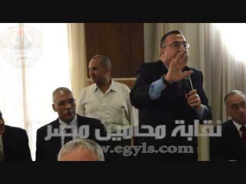 خالد ابوكراع لابد من ان يتم حذف كلمة التقسيم من الازمة