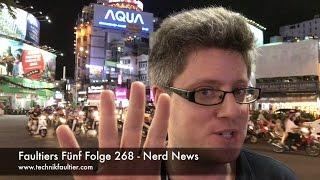 Faultiers Fünf Folge 268 - Nerd News
