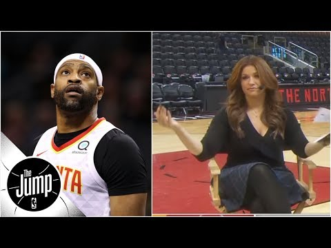 Video: Vince Carter not sold on 2019 NBA dunk contest, but Rachel Nichols not giving up | The Jump