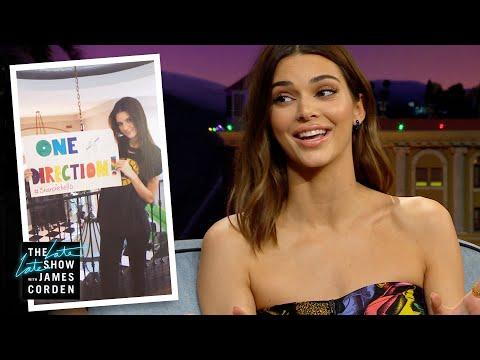 Kendall Jenner: Original 1D Super Fan?