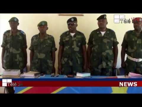 TÉLÉ 24 LIVE: Les soldats Congolais condamnés en 20 ans de prison ferme et d'autres à la prison à vie pour assassinats et viols à l'EST de la RDC