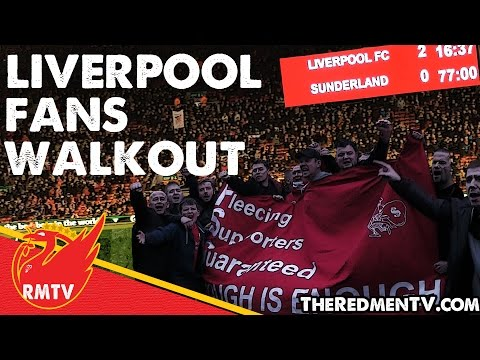 Liverpool Fans' Walkout Protest | #WalkOutOn77 | LFC News