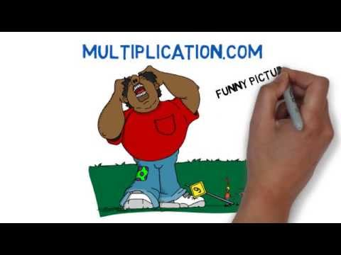 Multiplication.com - Use pictures and stories to remember the times tables. How it works!
