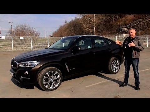 New BMW X6 дизель 249 л.с. - тест-драйв