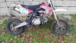 9. Pit bike 140cc