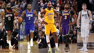 2020 Western Conference All Star Starter Season Highlights by Bleacher Report