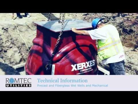 Precast and Fiberglass Wet Wells Overview