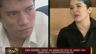 Video 24 Oras: Kris Aquino, iginiit na binastos siya ni James Yap; Anak nila, naaapektuhan na MP3, 3GP, MP4, WEBM, AVI, FLV Agustus 2018