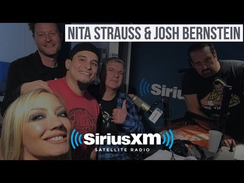 Nita Strauss & Josh Bernstien - Loudwire, Solo Record, Wrestlemania, Greatest Entrance Themes