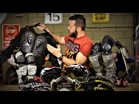Dirt bike protective gear guide for beginners