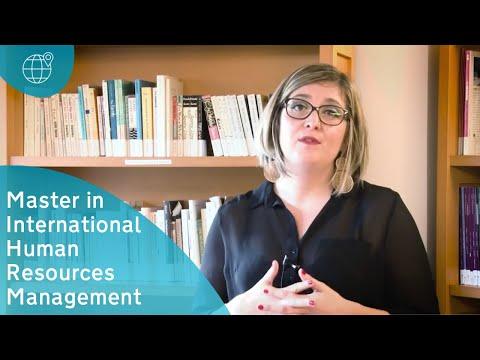 Master in International Human Resources Management IGR IAE Rennes1 France