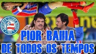 Craque Daniel e Cerginho da Pereira Nunes escalam, sem piedade, O PIOR BAHIA DE TODOS OS TEMPOS.FALHA DE COBERTURA NOVO TODA 2ª, 11h NA TV QUASE!FACEBOOK: http://facebook.com/tvquaseTWITTER: http://twitter.com/tv_quaseINSTAGRAM: http://instagram.com/tvquase