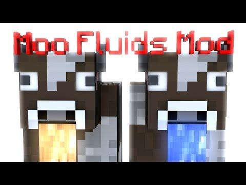 Minecraft: Moo Fluids Mod