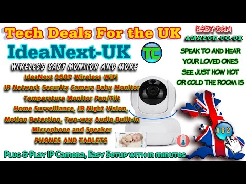 Tech Checker #62 IP Camera Baby monitor IndeNext C2401W