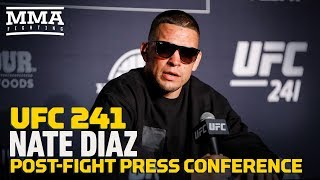 UFC 241: Nate Diaz Post-Fight Press Conference - MMA Fighting by MMA Fighting
