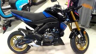 8. 2018 Kawasaki Z125 pro