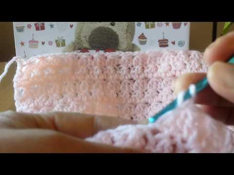 uncinetto - lavorazione del punto coperta