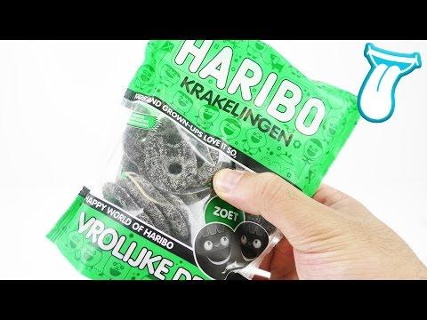 HARIBO Lakritz Brezeln aus HOLLAND krakelingen -  Süßigkeiten Test - In Aller Munde - Fun Candy