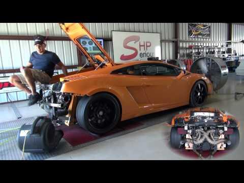 Lamborghini Gallardo Twin Turbo Dyno +1450WHP SeriousHP Houston