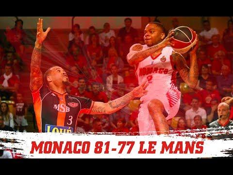 PLAYOFFS — Monaco 81-77 Le Mans — Finale, match 1 — Highlights