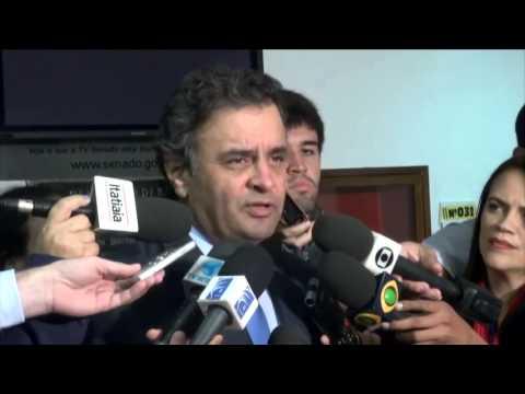 Aécio Neves: Projeto de lei para sabatinas do STF